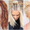 Cum să porți bijuterii în păr. 20 de coafuri originale