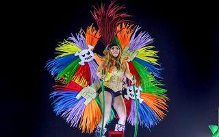 Carnavalul de la Rio, explozie de energie și culori: Cele mai spectaculoase imagini cu defilarea școlilor de samba