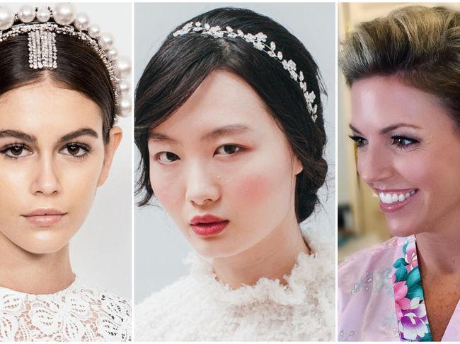 20 De Coafuri Pentru Mirese Cu Păr Scurt și Mediu Frumuseţe