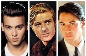 Johnny Depp, Robert Redford, Keanu Reeves