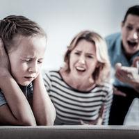 Țipetele cresc riscul de depresie infantila