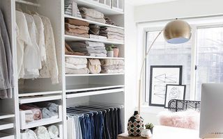 35 de imagini care te inspiră să-ți organizezi garderoba