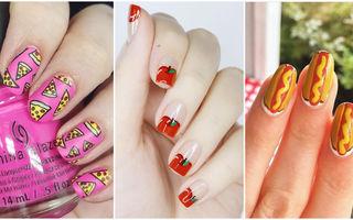 Un nou trend în materie de manichiuri: Desenele inspirate de mâncare