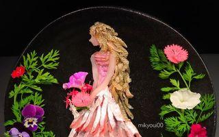 Artă în farfurie! Un bucătar creează picturi uimitoare folosind mâncarea