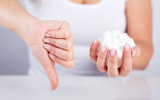 Cum trebuie să consumi zahărul ca să nu te îngrași. Sfaturile nutriționistului