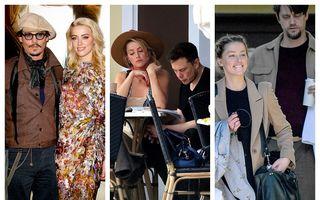Amber Heard, devoratoarea de bărbați: I-a tocat banii și nervii lui Johnny Depp, s-a distrat cu Elon Musk și a trecut la următoarea țintă