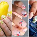 20 de manichiuri florale pe care să le încerci în primăvara 2019