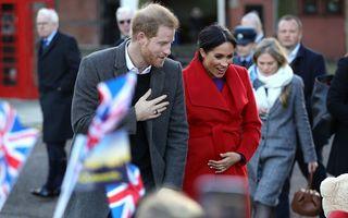 Așteptând o mică prințesă: Pariorii englezi cred că Meghan Markle va naște o fetiță