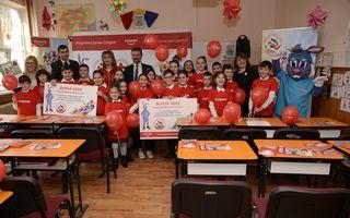 Programul Școlar Colgate: o fetiță din Hunedoara este unul dintre câștigătorii competiției internaționale de desene My Bright Smile™