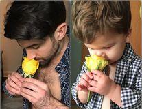 Copilul care intră în pielea unchiului său fotomodel: 10 imagini extrem de amuzante