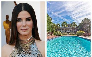 Sandra Bullock vinde o casă ca-n filme: Cât cere vedeta pentru o vilă splendidă, cu vedere la ocean