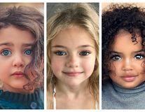 15 copii cu chipuri de îngeri: Privirile lor îți pătrund în suflet