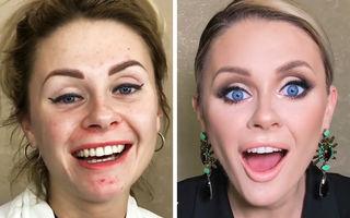 Zâna Cea Bună care transformă femeile în prințese: 15 machiaje uimitoare realizate de makeup artistul Goar Avetisyan