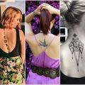40 de idei pentru tatuaje sexy pe spate