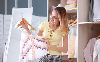 Cum să-ți organizezi garderoba pas cu pas. 8 trucuri simple