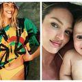 Candice Swanepoel, cea mai în formă mamă: Vedeta încinge atmosfera cu poze pline de culoare