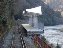 De ce sunt japonezii atât de diferiți de restul lumii: Au făcut o stație de tren doar pentru admirarea peisajului