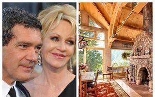 Melanie Griffith vinde cabana de schi pe care a cumpărat-o cu Antonio Banderas: I-a luat 4 ani ca să scape de ea