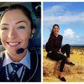 Stăpâna norilor: Femeia-pilot, senzație pe Instagram
