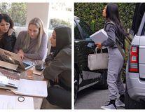 Kim Kardashian, bruneta de la Drept: Primele imagini cu starleta transformată în studentă