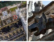 Comoara vie de la Notre-Dame: Descoperirea de pe acoperișul Catedralei după incendiul devastator