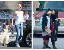 """Charlize Theron își crește băiatul ca pe o fată și îl îmbracă în rochie: """"Băiatul meu e o fetiță!"""""""
