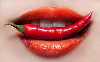 De ce îți curge nasul de la alimentele picante