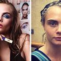 Cum arată fără machiaj femeile din reclamele la produse cosmetice. 20 de imagini șocante