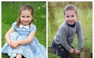 Prințesa Charlotte a împlinit 4 ani: 3 imagini noi făcute de Kate Middleton cu fiica ei