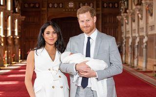 Primele imagini cu bebelușul regal. Cum arată copilul lui Meghan și Harry