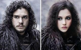 Filtrul Snapchat care transformă personajele din Game Of Thrones într-unele de sex opus. 13 imagini amuzante