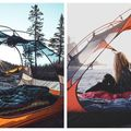 """Cortul transparent, """"casa"""" celor care vor să simtă natura: 13 imagini care te fac visezi la o aventură în sălbăticie"""