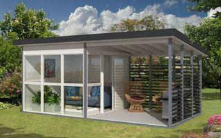 Casa care se montează în 8 ore: Costă 6.550 de dolari și se vinde pe Amazon