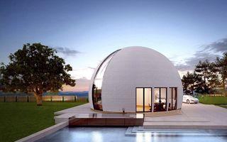 Casa rotundă, noua atracție pe piața imobiliară: Proiectul eco cu care rușii vor să atragă clienții