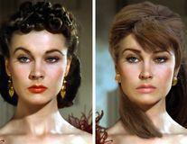 Cum ar arăta azi femeile frumoase din secolul trecut: Vivien Leigh o depășește pe Angelina Jolie!