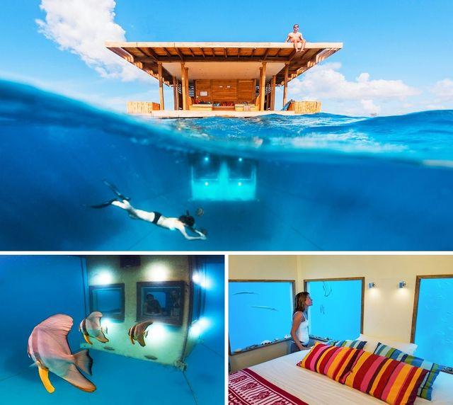 hotel subacvatic