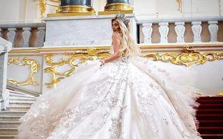 20 de rochii de mireasă spectaculoase ce par desprinse din basme