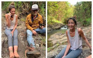 Povestea unei supraviețuitoare: Momentul emoționant în care o femeie rătăcită 17 zile în pădure a fost găsită de salvatori