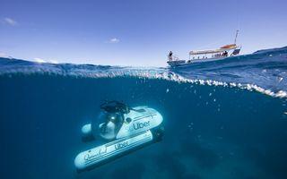 Fără concurență: Uber a lansat primul serviciu de taximetrie cu submarinul - FOTO