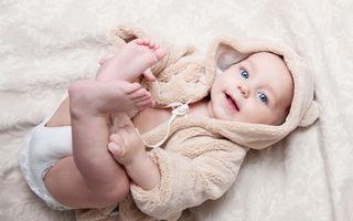 De ce gânguresc bebelușii?