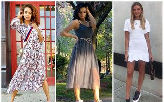 Cum să porți pantofii sport cu rochiile de vară
