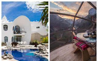 20 de locuri de cazare din rețeaua Airbnb care îți garantează o vacanță de neuitat. Cât costă o noapte în aceste locuri