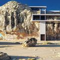 Casă de piatră: Vila din stâncă, proiectul spectaculos al unui arhitect genial - FOTO
