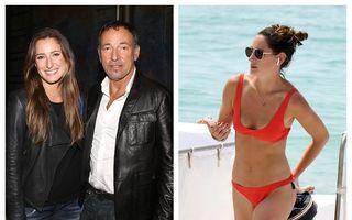 Born in the U.S.A.: Fiica lui Bruce Springsteen arată senzațional la 27 de ani