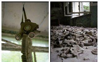 Incursiune în Cernobîl: 21 de imagini care îi bântuie pe toți cei care le văd
