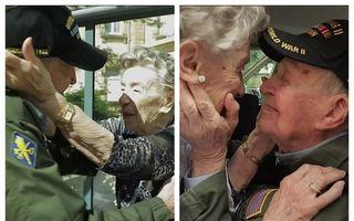 Prima dragoste nu moare niciodată: Întâlnire emoționantă între un fost soldat american și iubita lui din Franța, după 75 de ani