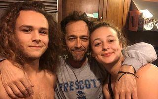 """Luke Perry, omagiat la trei luni după moarte: Imaginea pe care fiica starului din """"Beverly Hills, 90210"""" a postat-o de Ziua Tatălui"""