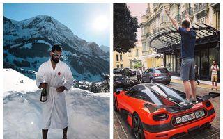 Cum se distrează copiii bogați din Elveția: Concurs cu poze la piscină, genți Hermès, avioane private și teancuri de bani