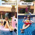 Instagram versus realitate: Comparațiile amuzante ale unei tinere din Germania