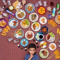 25 de copii din intreaga lume fotografiati cu ceea ce mananca intr-o saptamana